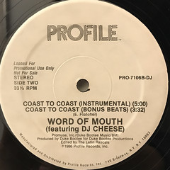 WORD OF MOUTH:COAST TO COAST(LABEL SIDE-B)