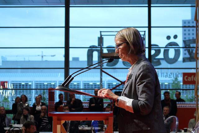 Françoise Nyssen - Foire du Livre de Francfort