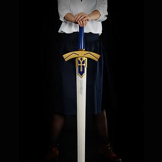 【更新官圖&販售資訊】「Exーcalibur!!!」PROPLICA《Fate/stay night》誓約勝利之劍(約束された勝利の剣;エクスカリバー) 1/1道具複製品【ANIPLEX+限定】
