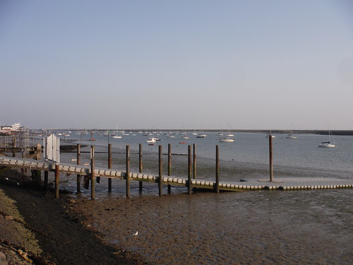 Boats Moored off Burnham-on-Crouch