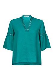 ฿2295 ESTIMATE เสื้อเบลาส์ รุ่น 1610EA17927 ไซส์ M สีเขียว