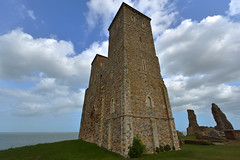 Reculver Towers in Kent