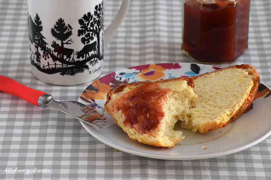 Cuchaule - Swiss bread