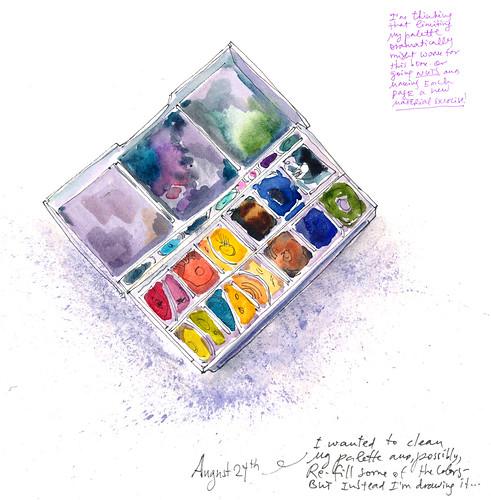 Sketchbook #108: Palette