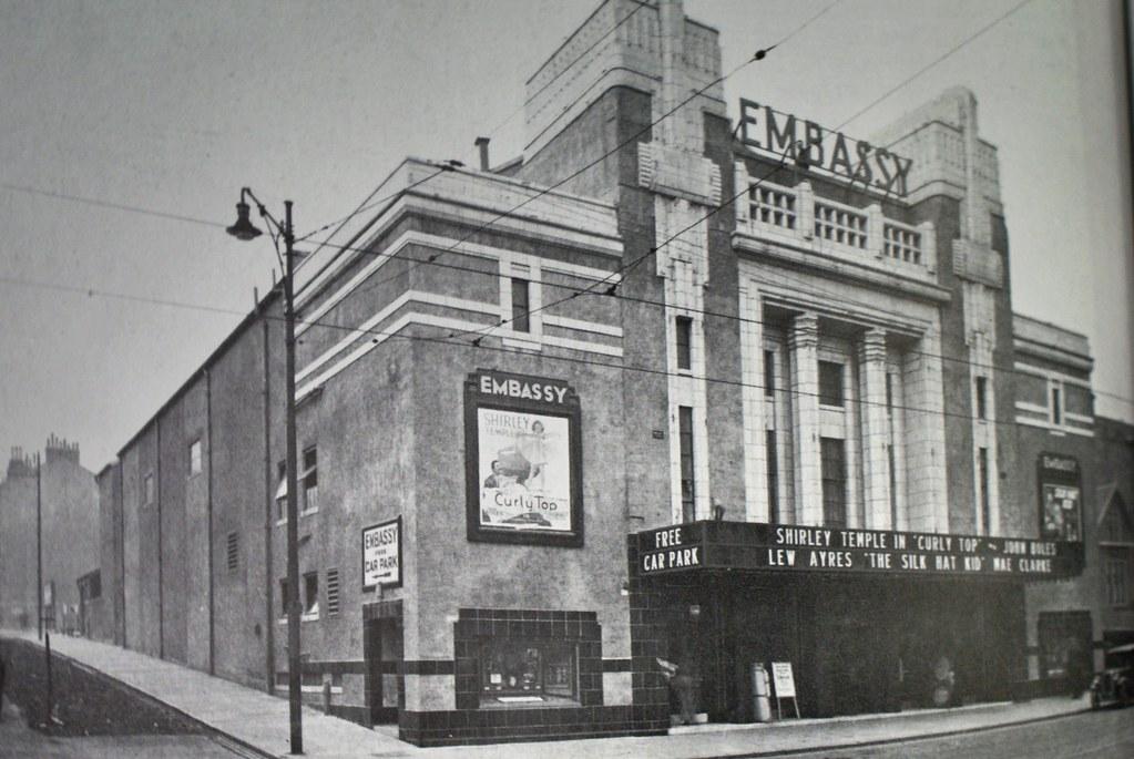 Ancien cinéma art deco de Glasgow : Embassy.