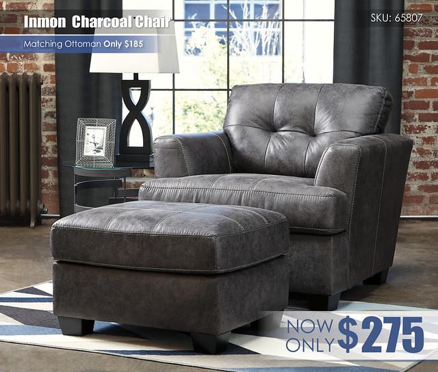 Inmon Charcoal Chair 65807-20-14