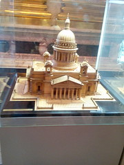 Макет Исаакиевского собора