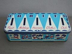 Vintage 1950's Chad Valley Thrift Savings Tin Box