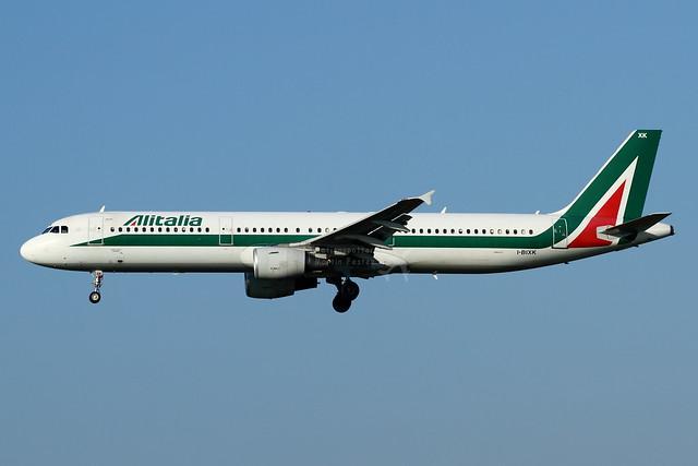 I-BIXK // Alitalia // A321-112