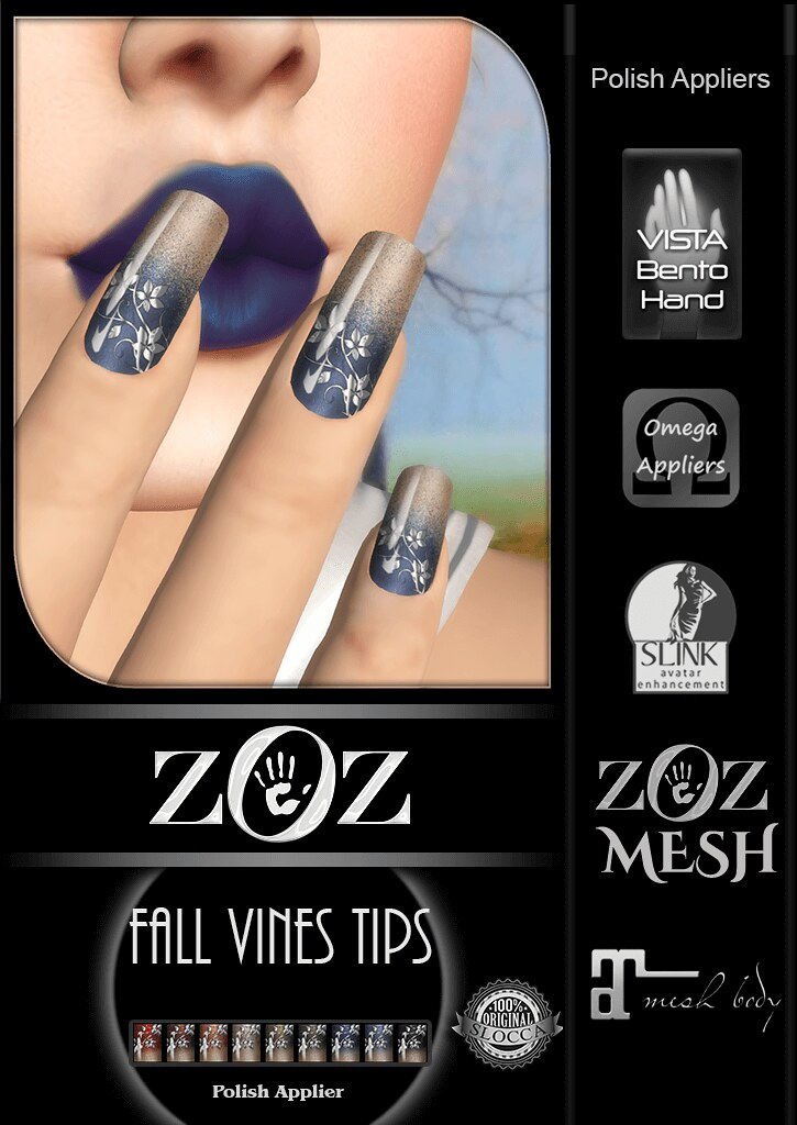 {ZOZ} Fall Vines Tips pix L - TeleportHub.com Live!