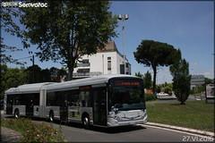 Heuliez Bus GX 437 Hybride - Tisséo n°1658