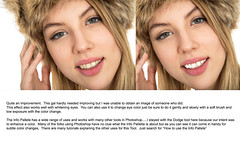 Tutorial  -  An Easy Way to Whiten Teeth and Eyes