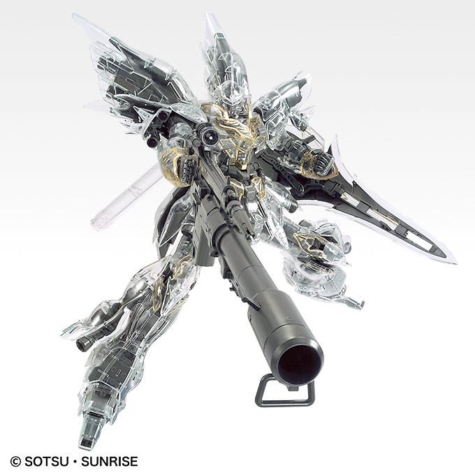 MG 1/100 《機動戰士鋼彈UC》新安州 [機械內構透明版](シナンジュ[メカニカルクリア])【GUNDAM BASE限定】