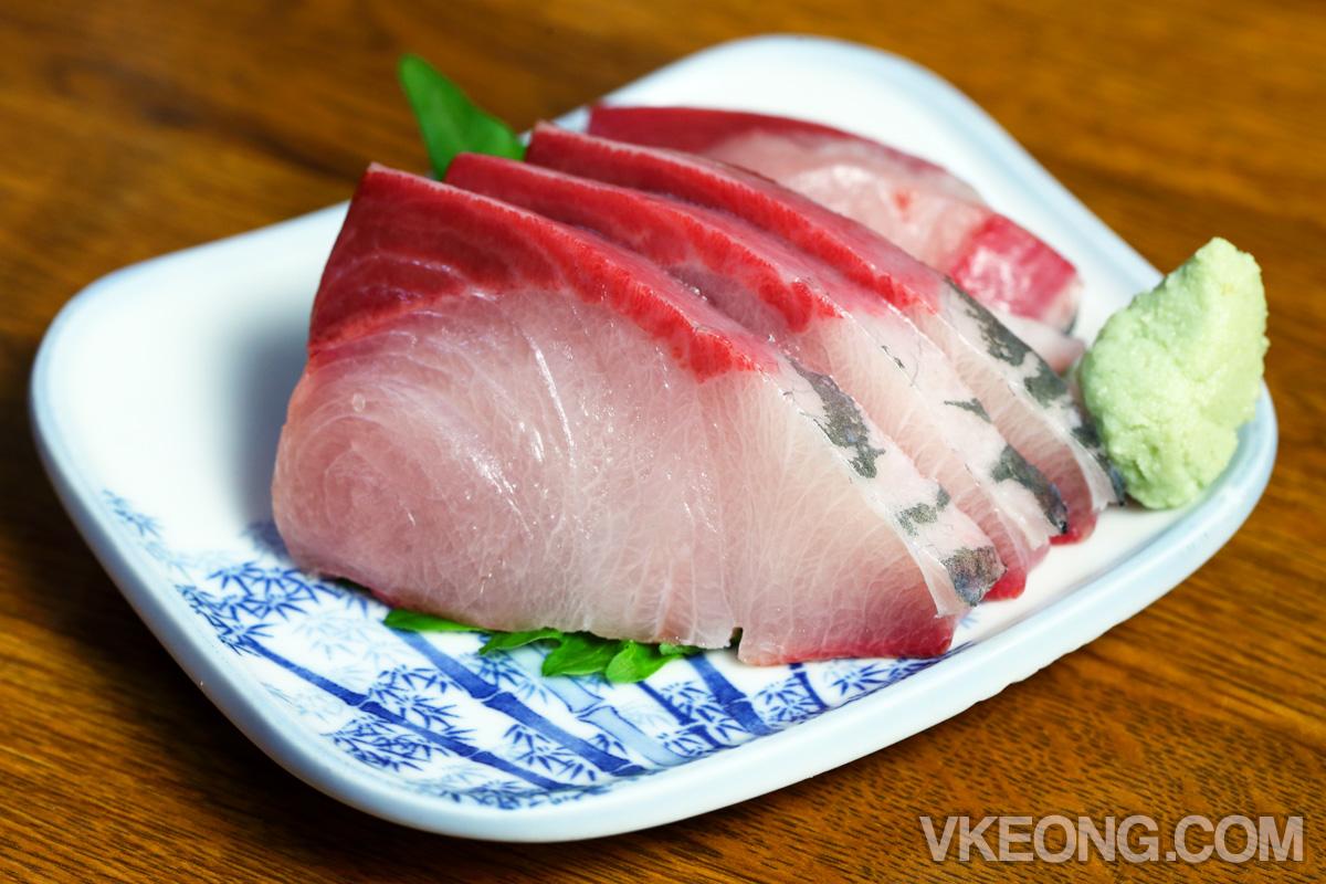 Ginshari-ya Geko-tei-Hamachi-Sashimi