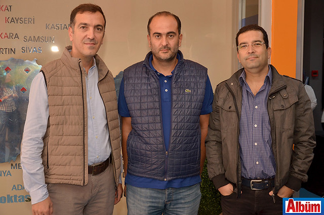 Raşit Sadullahoğlu, Güray Tuna, Fevzi Alaattinoğlu