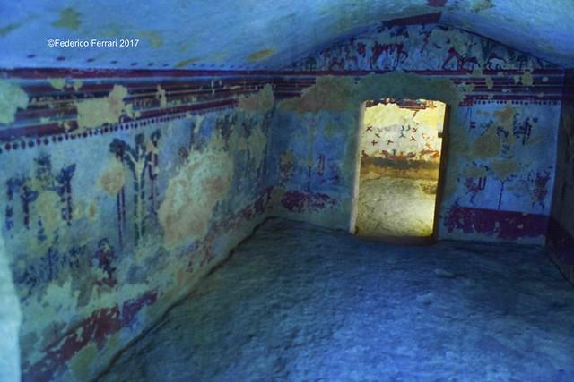 25 Tombe etrusche Taquinia