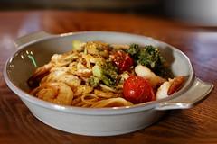 Oil Based Shrimp & Tomato Pasta