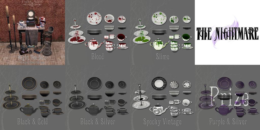 *pm* Night Tea Sets poster - TeleportHub.com Live!