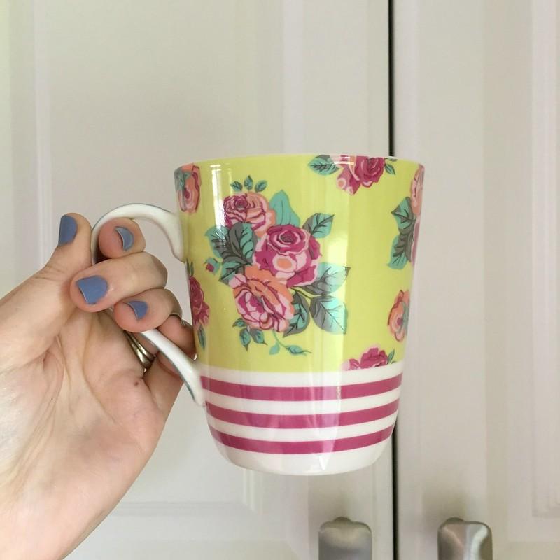 matilda jane spring floral mug