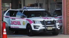 City of Manassas Park Police Department Breast Cancer Awareness 2017 Ford Police Interceptor Utility