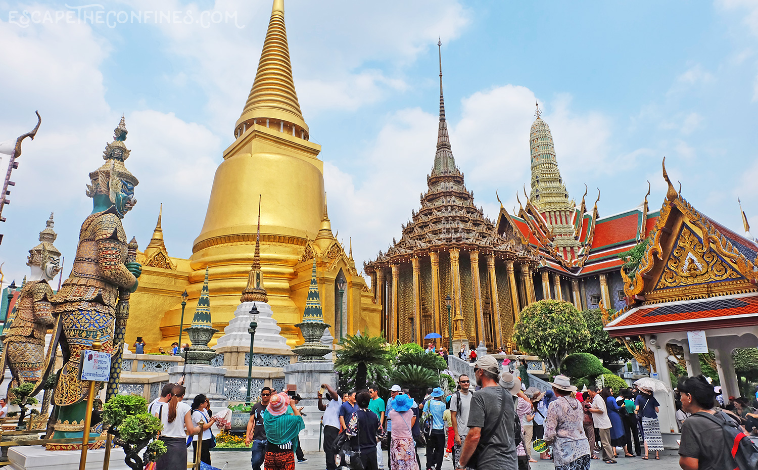 The Grand Palace in Bangkok | Escape The Confines