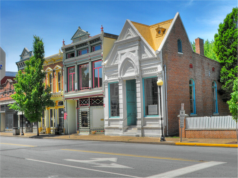 Downtown New Harmony, Indiana