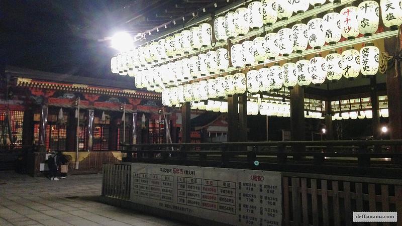 3 Hari Keliling Kyoto - Yasaka Shrine