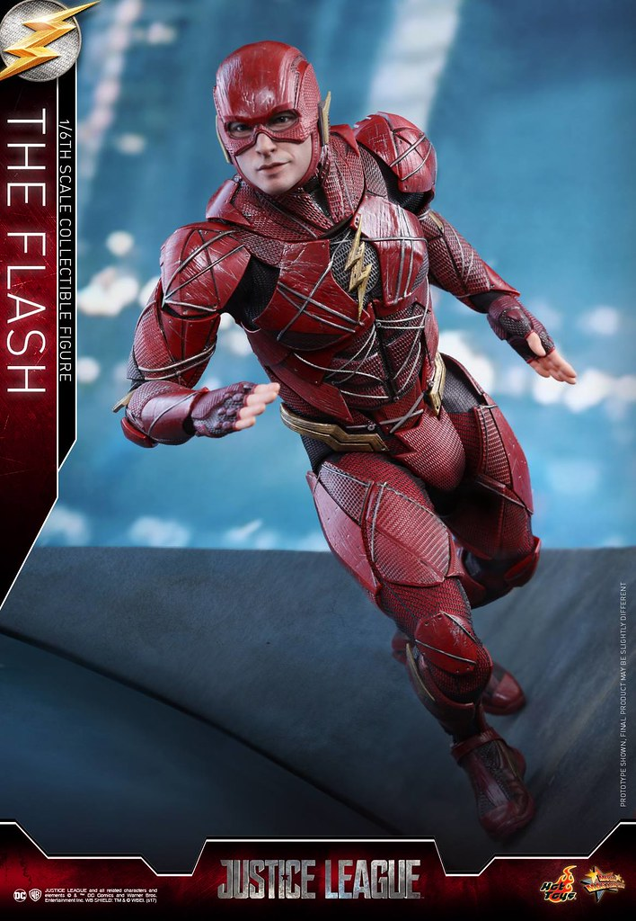 Hot Toys - MMS448 -《正義聯盟》閃電俠 Justice League The Flash 1/6 比例可動人偶作品