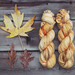 October Leafs sock yarns