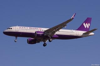 Airbus A320-214(WL), F-WWIY West Air, Toulouse Blagnac LFBO/TLS (31/10/2017)