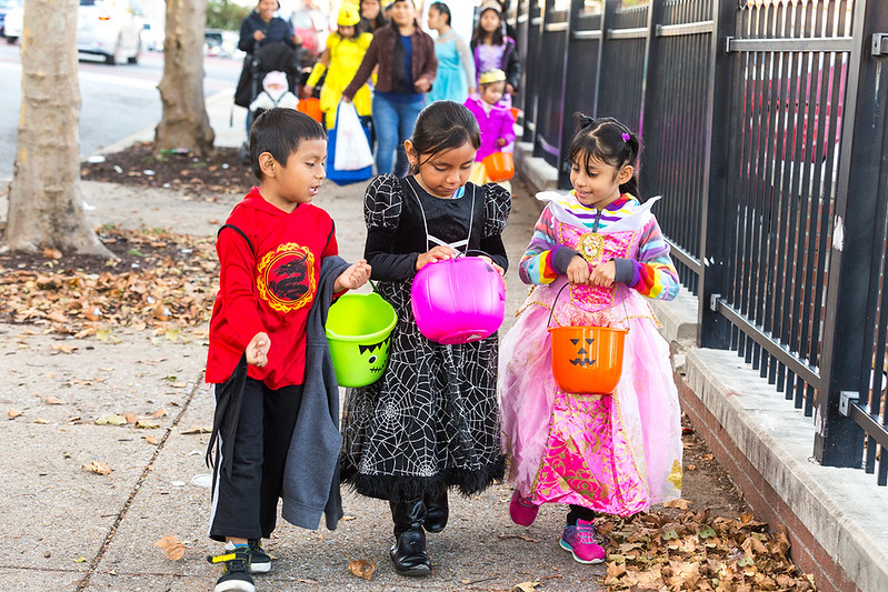 Trick or Treat on Highlandtown Main Street 2017