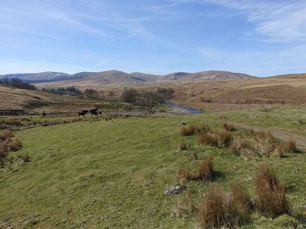 Rhinns of Kell from Cairnsmore of Carsphairn
