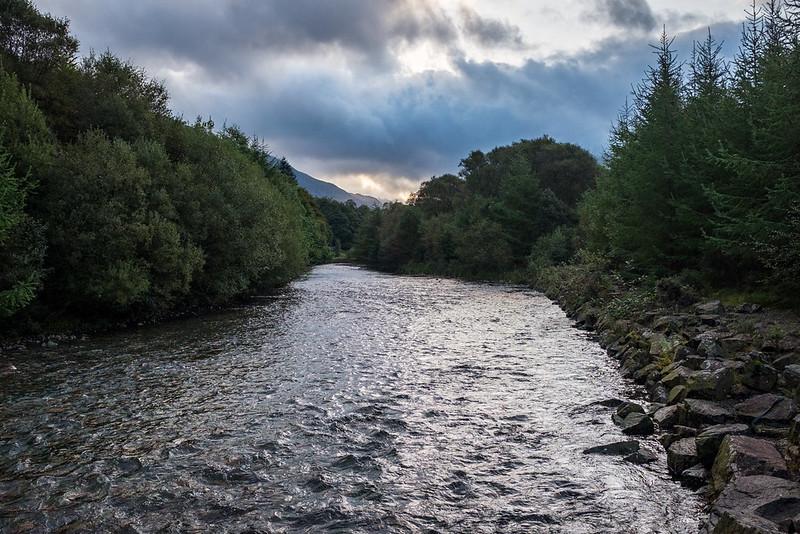 Ennerdale Water behind Lingmell