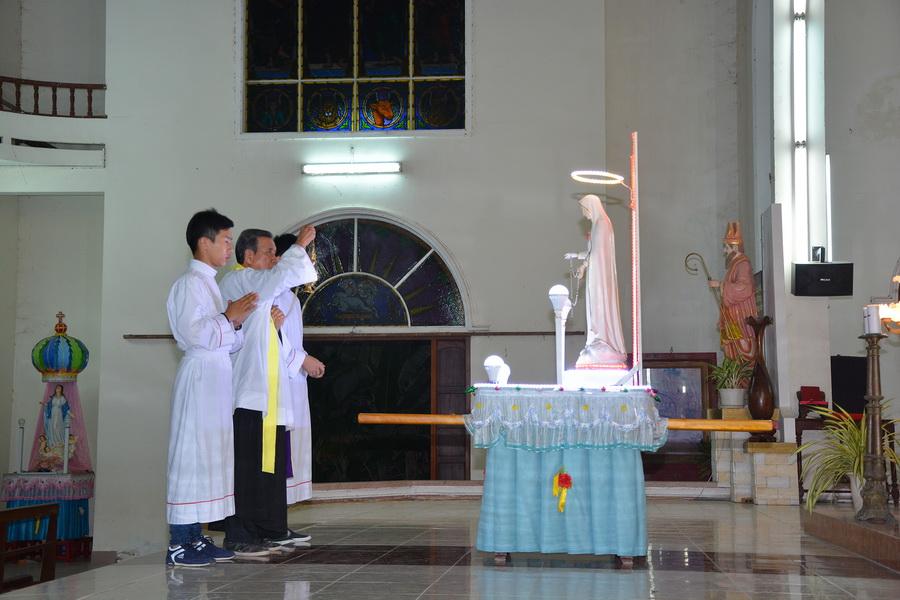 Giáo xứ Gò Thị khai mạc tháng Mân côi kính Đức Mẹ