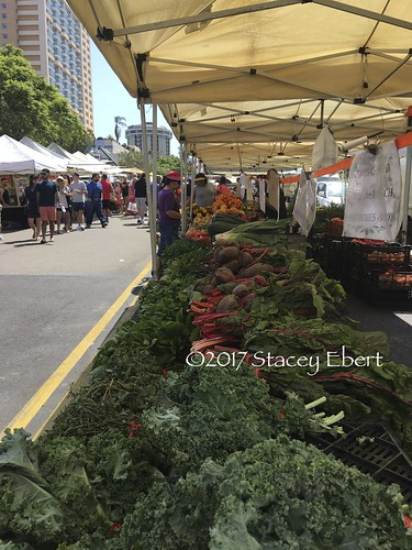 Learning and interacting at a farmer's market. From Through the Eyes of an Educator: Expanding Our Idea of School