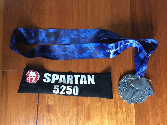 Spartan Super Medal - Bright 2017