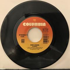 KRIS KROSS:ALRIGHT(RECORD SIDE-A)