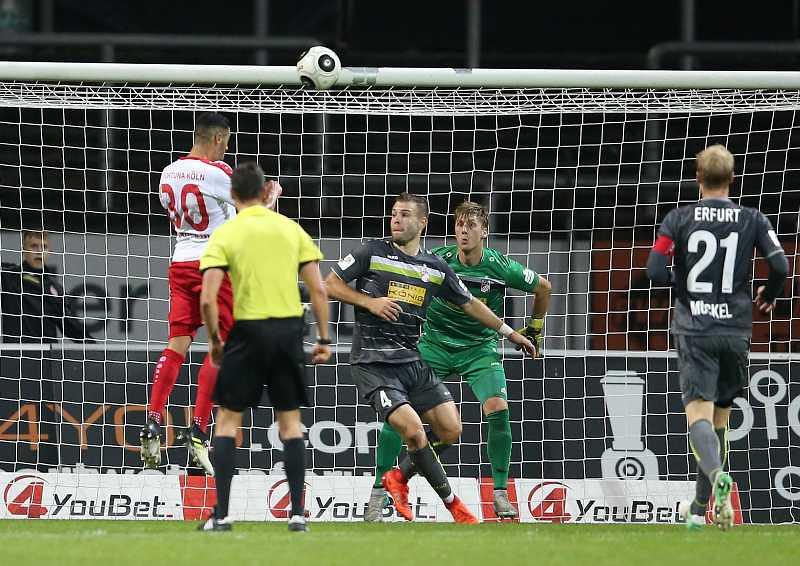 13.10.2017  SC Fortuna Koeln vs. FC Rot - Weiss Erfurt