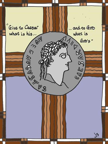 Caesar denarius cover