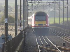 43311 passes Berwick-upon-Tweed (18/10/17)