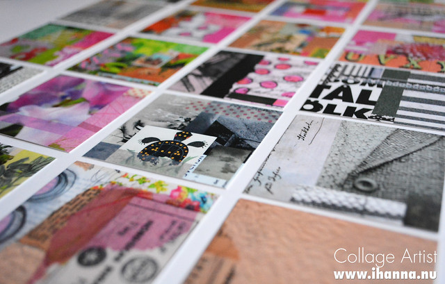 Business cards for artists from moo because theyre creative business cards for a collage artist blog post by ihanna colourmoves