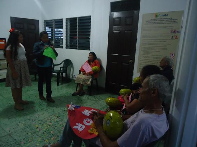 Visita aos  Idosos em El Salvador