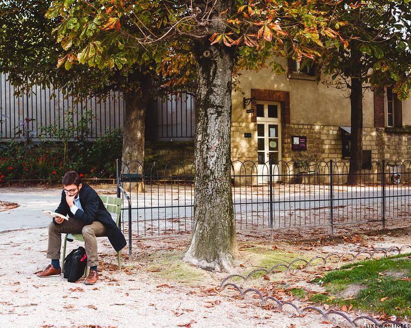 Reading, Jardin du Luxembourg