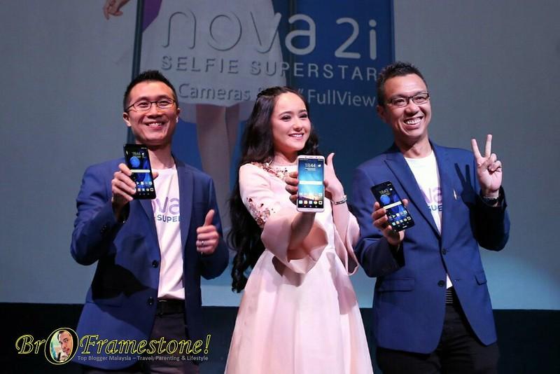 Hannah Delisha Duta Huawei Nova 2i