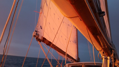 Alpenglow sail