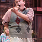 The Foreigner at the Arvada Center 2017 - The Foreigner  Pictured - Sammie Joe Kinnett (Charlie Baker)  Photo Matt Gale Photography 2017