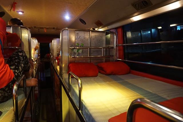 Vang Vieng - Pakse Night Bus