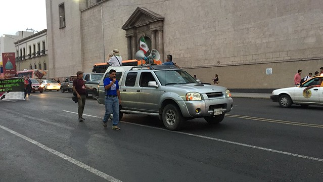 #Ayotzinapa3Años - Marcha en Monterrey