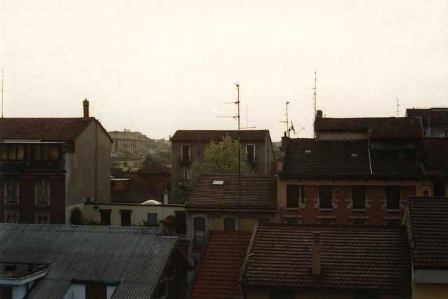 Milan dawn