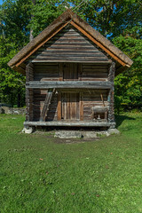 Old wooden house of Traditional housing of the indigenous populations of Estonia